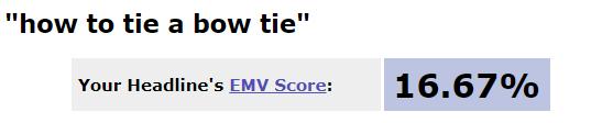 YouTube video title AMI headline score
