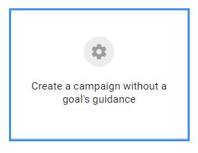 Youtube Ads Setup 3 - Campaign Goal